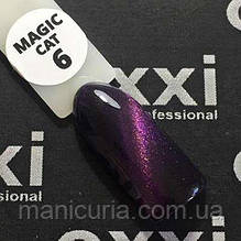 Гель-лак Oxxi Professional Magic Cat Eye Кошачий глаз №6, 8 мл