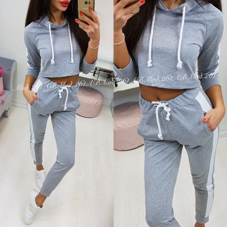5806d2fd16d5 Женский спортивный костюм верх топом - Интернет-магазин LIRENE. Женская  одежда и аксессуары в