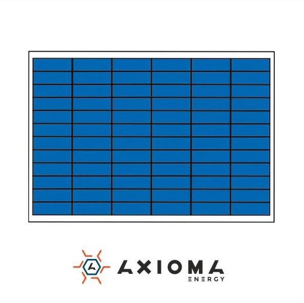 Солнечная батарея AXIOMA ENERGY 100 Вт 12 В поликристаллическая AX-100P