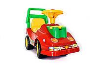 Каталки и качалки «ТехноК» (2490) Автомобильпрогулочныйстелефоном,красный