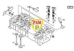 Головка блока двигателя 04197008 DEUTZ 1012