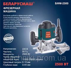Фрезер электрический Беларусмаш БФМ-2500 (набор фрез), фото 3