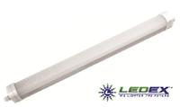 Светодиодный светильник LED-ZJ-18 16W (16Вт, 6000К, линейный накладной)