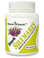 Здоровье печени Stark Pharm - Silymarin 500 мг (60 капсул) (силимарин, экстракт расторопши пятнистой 80%)