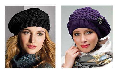Женские осенние береты и кепки – выбор современных модниц