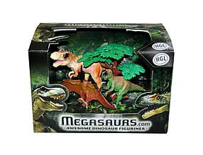 Игровая фигурка «HGL» (SV10621) набор Динозавры серия А (маленький)