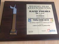 Український виробник UDEN-S отримав престижну нагороду на міжнародній будівельній виставці в Польщі