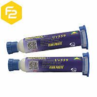 Флюс-гель MECHANIC 559-UV для бессвинцовой пайки, 10грамм