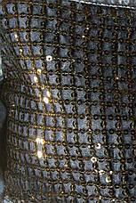 Джинсова туніка сукня з паєтками Neon, фото 3
