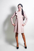 Платье с крылышками для кормления и беременных - Бежевый