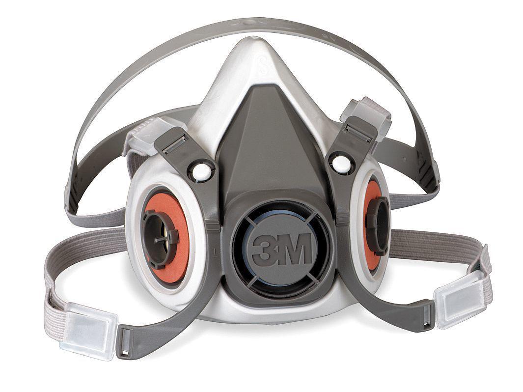 Полумаска 3М без фильтров серии 6000 (средний размер)