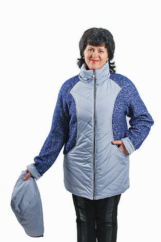 """Весенняя куртка """"Савик"""" большой размер, фото 2"""