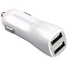 Автомобильное зарядное устройство Promate Vivid White