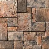 Облицовка фасада дома искусственным камнем, фото 3
