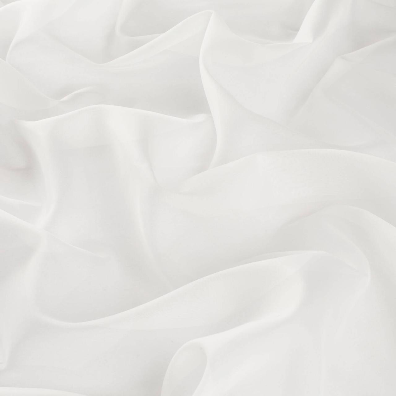Тюль вуаль-силк молочный Yuly