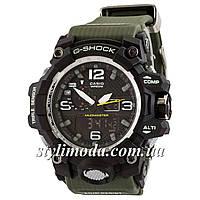 Часы наручные Casio G-Shock GWG-1000 Black-Militari Wristband New