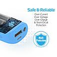 Универсальный аккумулятор Promate aidBar-2 Blue, фото 7