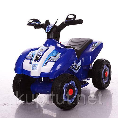 Толокар-мотоцикл Bambi M 3558E-4, синий