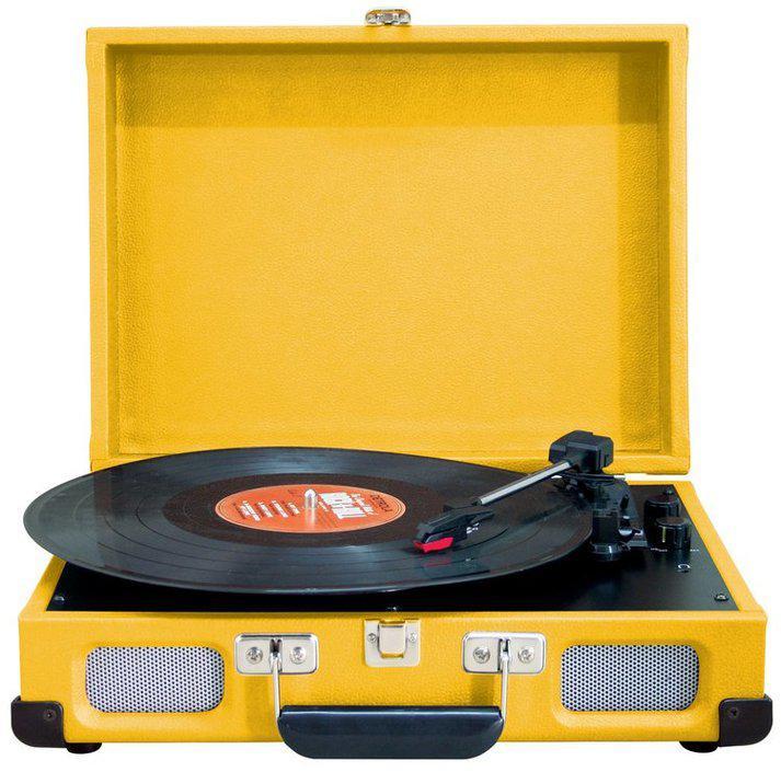 Грамофон с кейсе RETRO AUX Soundmaster PL580 УЦЕНКА