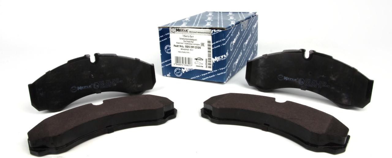 Колодки тормозные (передние/задние) Iveco Daily II 96-