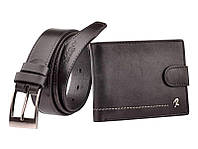 Набор мужской кошелек + ремень бренд  Rovicky код 325 , фото 1
