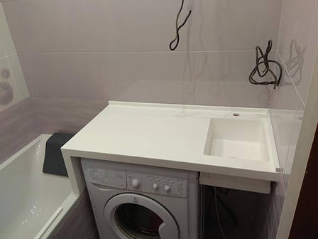 Стільниця у ванну з мийкою з LG S034, фото 2