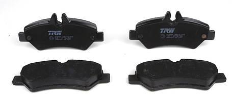 Колодки тормозные (задние) MB Sprinter 209-319 CDI/VW Crafter 30-35 06-, фото 2