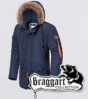 Braggart - Arctic 2935 | Парка зимняя мужская синяя