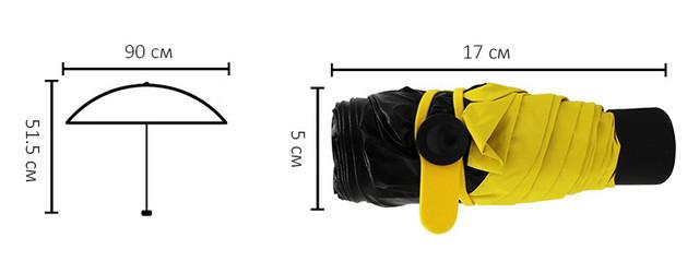 Универсальный карманный зонт Pocket Umbrella