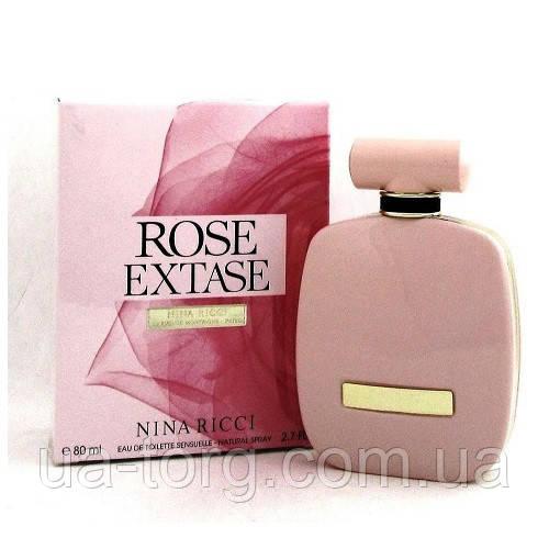 Женская туалетная вода Nina Ricci Rose Extase 80 мл.