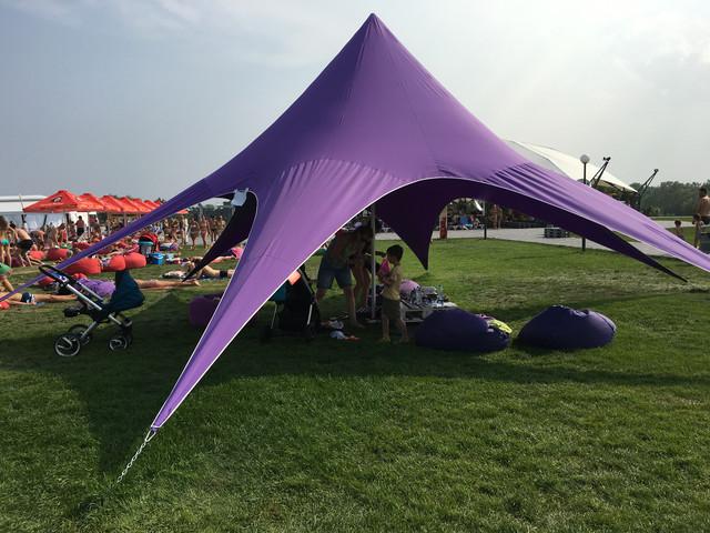 палатка сиреневая фиолетовая киев