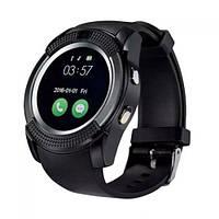 Умные часы Smart Watch GSM Camera V8 Black, фото 1