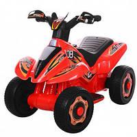 Толокар-мотоцикл Bambi M 3560E-3, красный