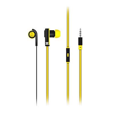Наушники с микрофоном Promate Brazen Yellow