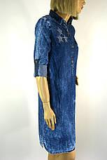 Джинсове плаття туніка Ezra, фото 3