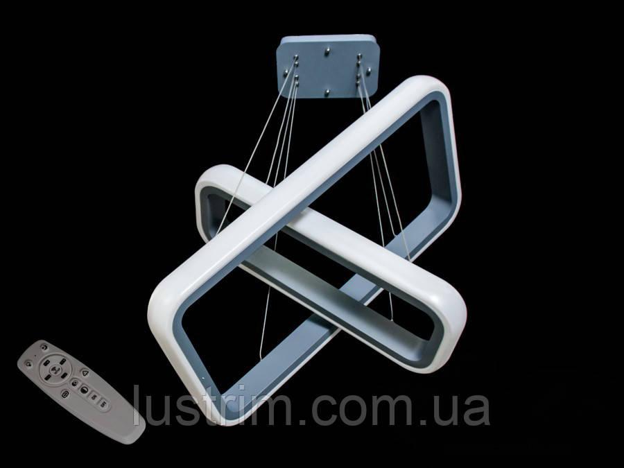 Современная светодиодная люстра с диммером, 55W