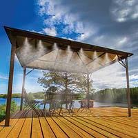 Садовый водяной туманообразователь для теплиц и летних веранд