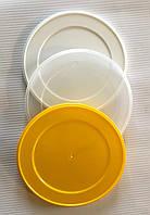 Крышка для жестяных банок с EASY-OPEN, контроллер пластиковый АУРА  Д.99 ММ мешок 500 шт прозрачная