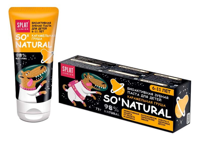 Зубная паста СПЛАТ Junior Карамельная груша (6-11)