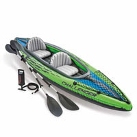 "Надувная лодка - байдарка Intex Challenger K2, 68306 ""Kayak"""