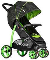 Прогулочная детская коляска SIROCCO QUATTRO COLOR