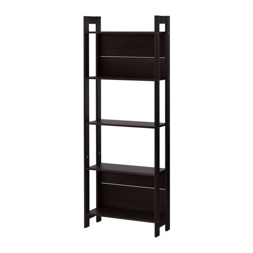 ЛАЙВА Стеллаж, черно-коричневый, 62x165 см 40178591 IKEA, ИКЕА, LAIVA