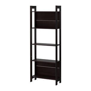 ЛАЙВА Стеллаж, черно-коричневый, 62x165 см 40178591 IKEA, ИКЕА, LAIVA, фото 2