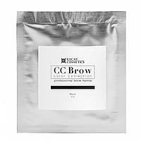Хна для бровей CC Brow саше, 5 гр чёрный