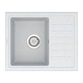 Кухонная, прямоугольная мойка VANKOR Lira LMP 02.55 Sahara (серая)