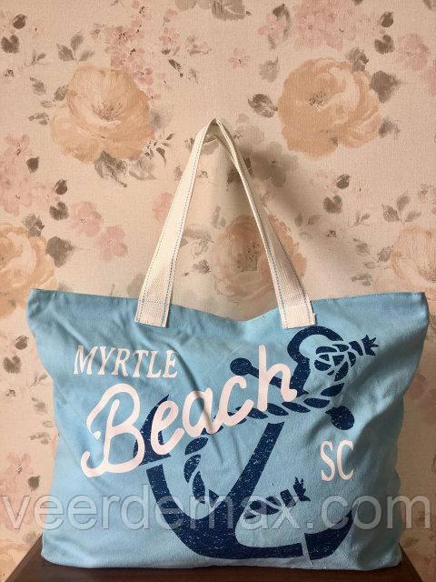 Жіноча пляжна сумка з якорем