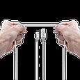 Кабель Promate Cable-LTF Lightning Silver, фото 5
