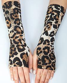 Нарукавники леопард