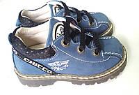 Детские кожаные туфли Chicco р. 22 - 14,3см