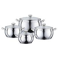 Набор Посуды Peterhof 8ч PH15833 (2.1л; 3,0л; 4,0л; 6,9л)